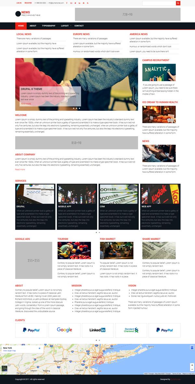 News Zymphonies Theme   Drupal org